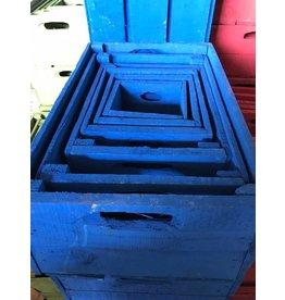 Damn Kist kobaltblauw 15 x 15 vanaf