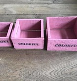 Set of small boxes 3
