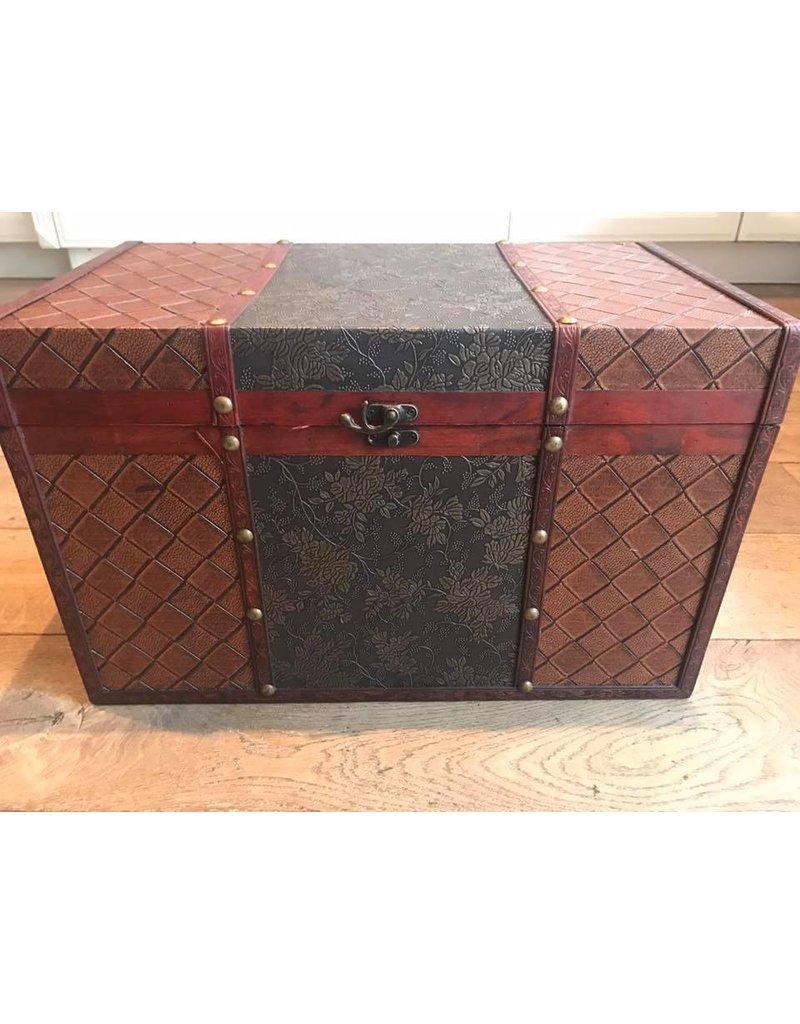 Kist bedrukt Maat M
