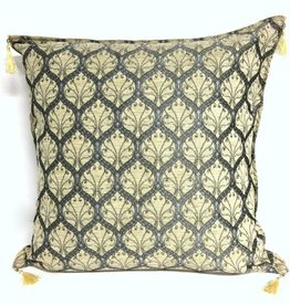 esperanza-deseo Honeycomb cream pillow case / cushion cover ± 70x70cm