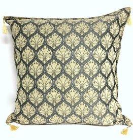 esperanza-deseo Honeycomb cream pillow case / cushion cover ± 70x70cm