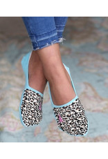 Love Ibiza Sneakersock Leopard