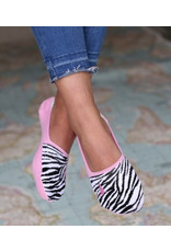 Love Ibiza Sneakersock Zebra