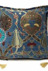 esperanza-deseo Flowers jeans kussenhoes 40 x 40 cm
