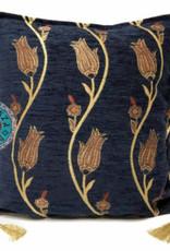 esperanza-deseo Flowerstring dark blue 45 x 45