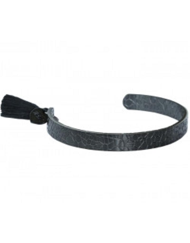 Love Ibiza Snake bracelet black