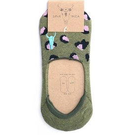 Love Ibiza Socks set 2 pair green