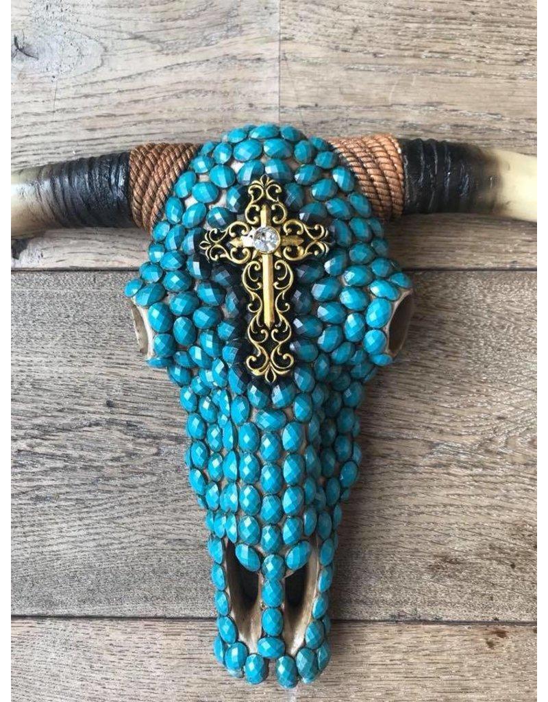 Damn Skull stones turquoise