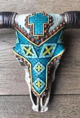 Damn Skull mosaic
