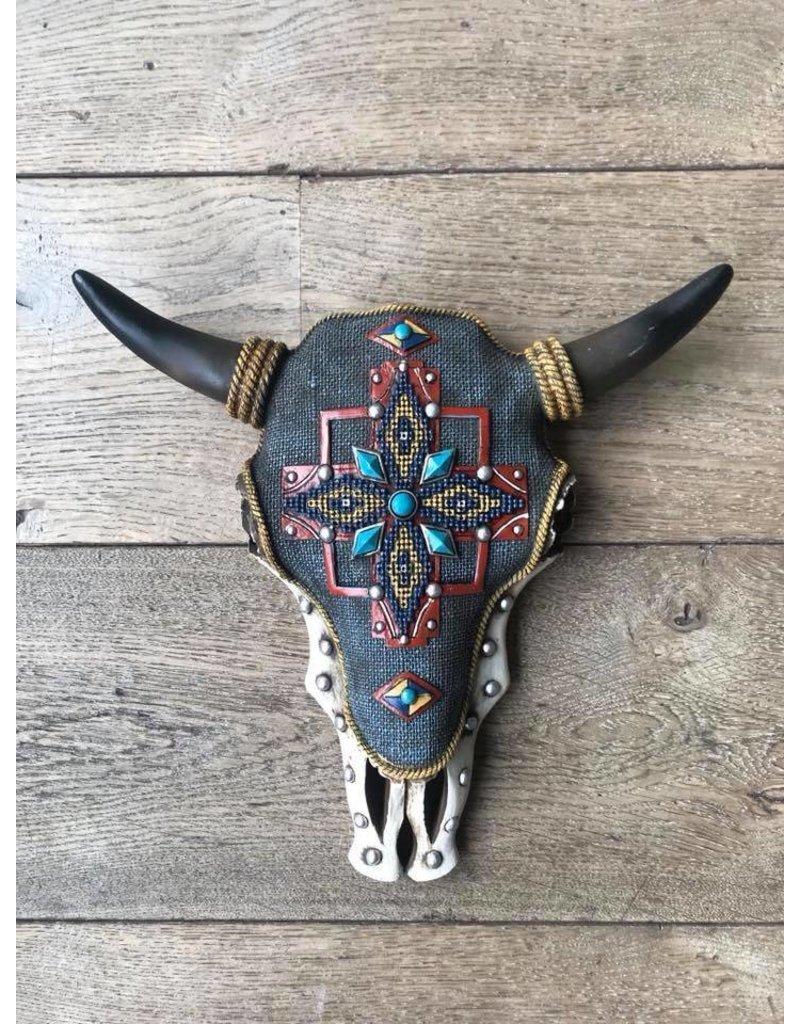 Damn Skull bewerkt gekleurd