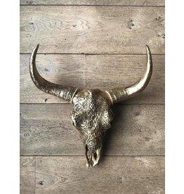 Damn Skull bronze 40cm