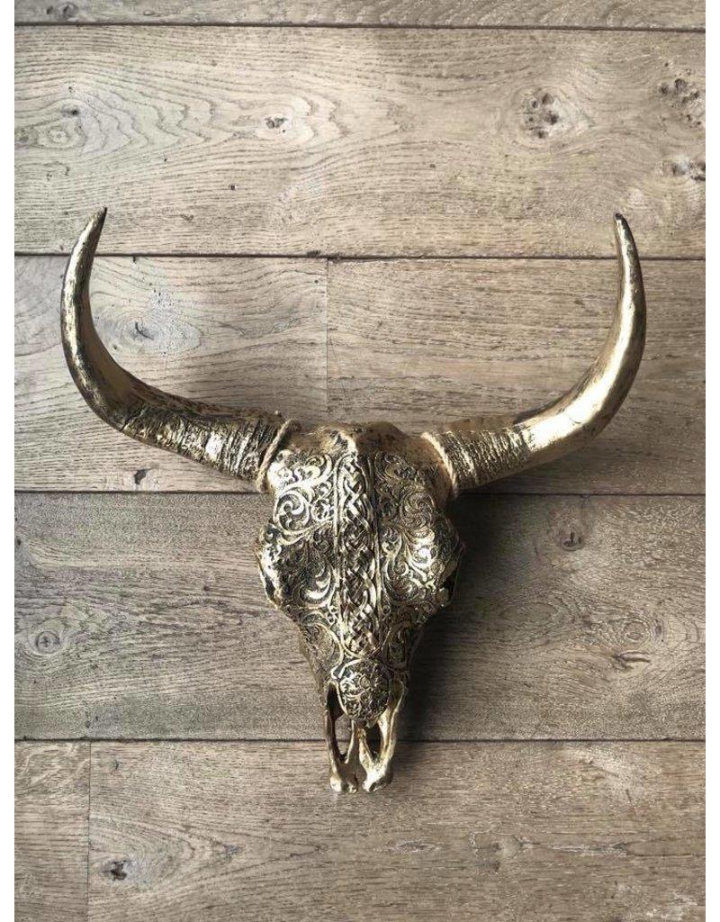 Damn Skull brons 40cm