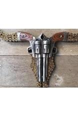 Damn Skull pistols flat