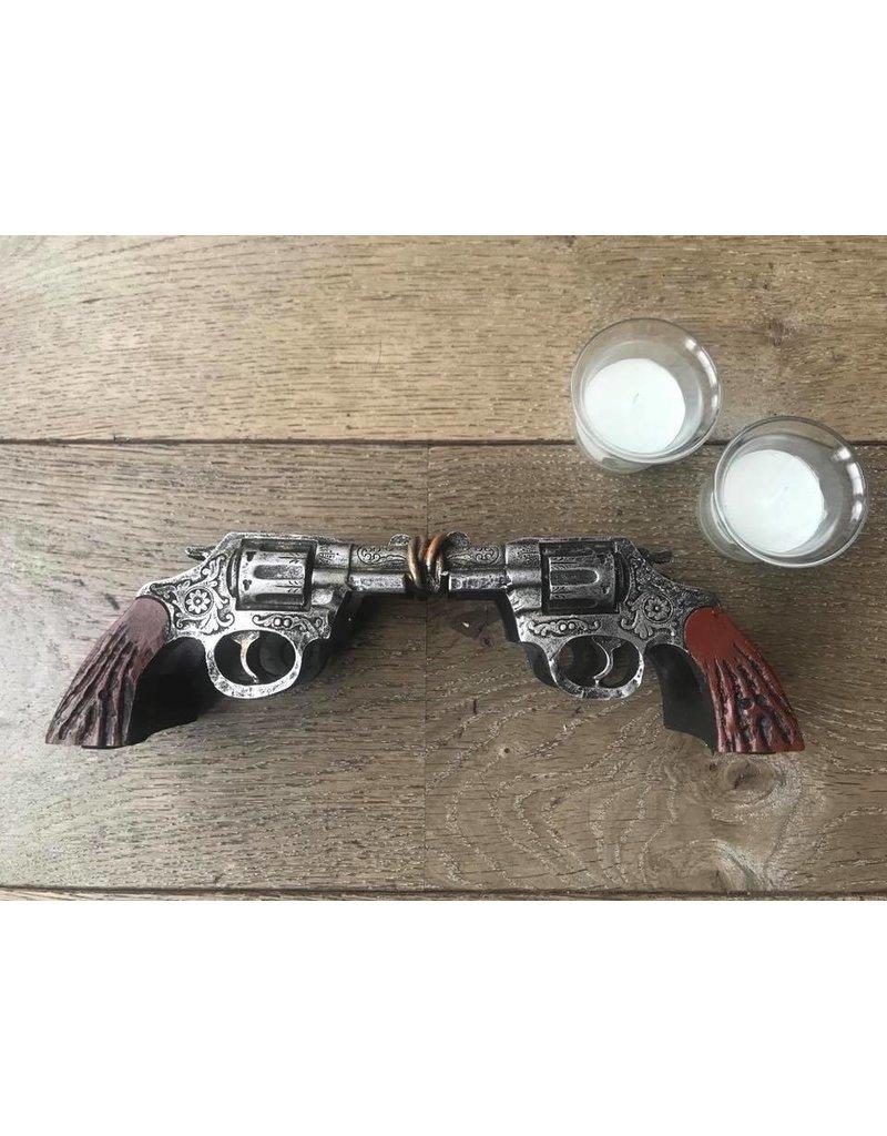 Damn waxinehouder revolvers 309