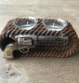 Damn Waxinehouder revolver