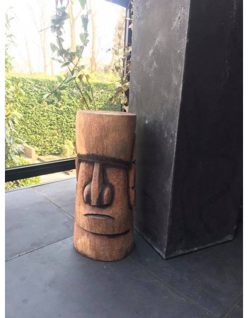 Damn Tiki palm wood