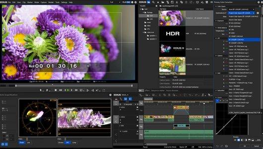 EDIUS 9 HDR screenshot