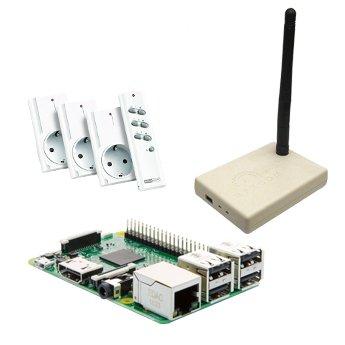 Raspberry Pi 3 Domotica set