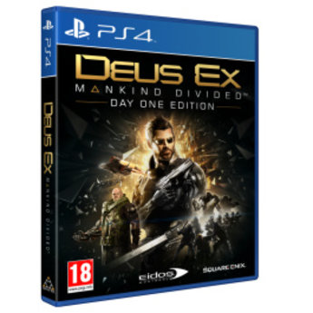 Deus Ex: Mankind Divided Day One Edition - PS4