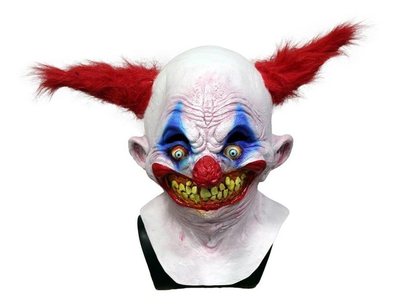 Latex Horror Clown Mask Mistermask Nl