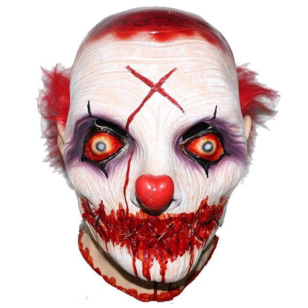 Killer Clown Mask With Shut Mouth Mistermask Nl