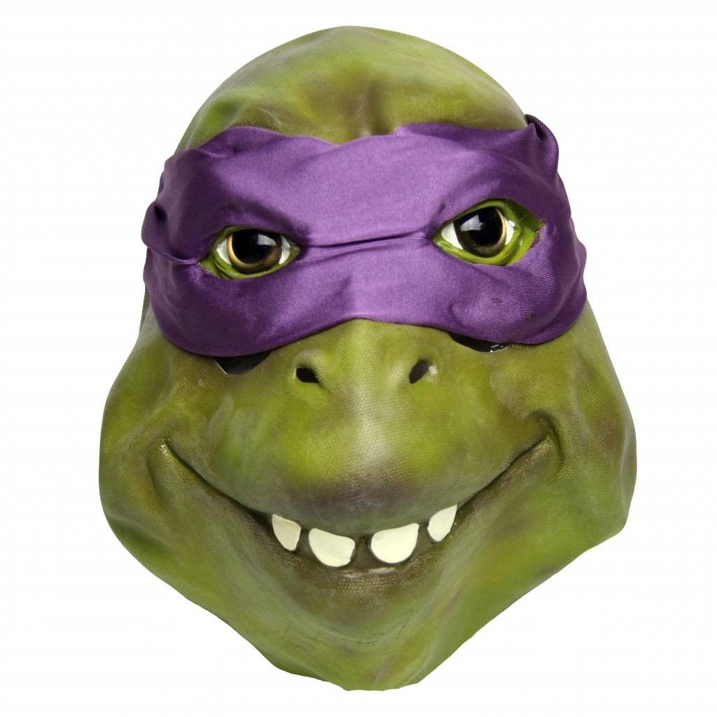 Ninja Turtle mask (purple) Donatello - MisterMask.nl