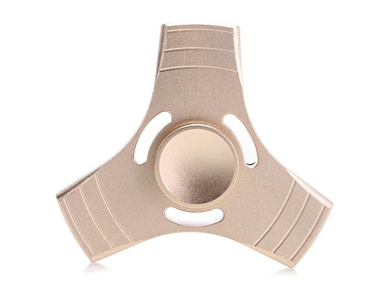 Fidget Spinner  gold metal