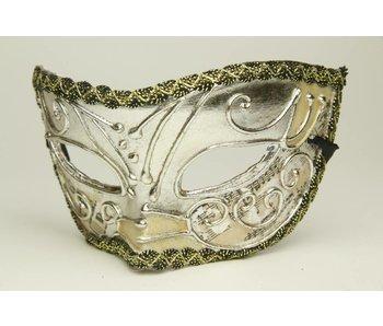Venetiaans masker 'Argento'