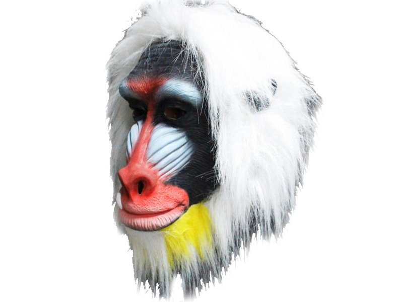 Mandril apenmasker