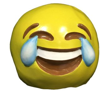 Emoji masker Huilende lach ;-D