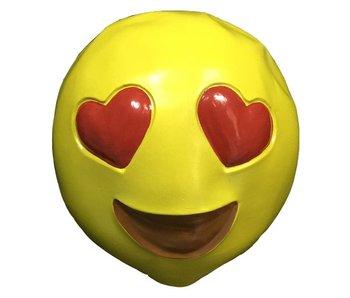 Emoji masker Verliefd