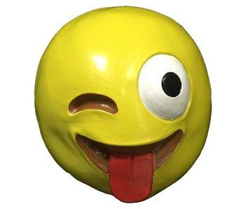 Emoji masker Crazy