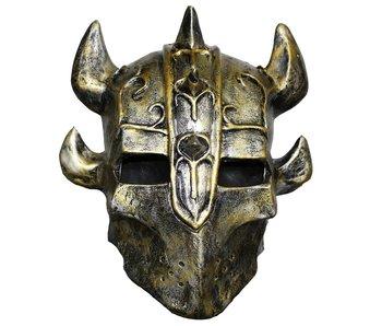 Knight mask - horned helmet