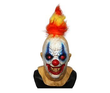Horror clown masker 'Fire Devil'