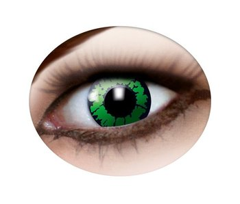 Green eye lenses