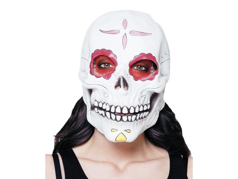 Latex Head Mask Señora Calavera Mistermasknl