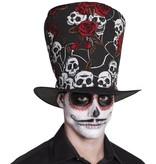 Dia de los Muertos hoed 'El Novio'