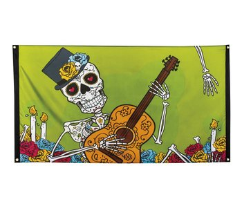 Flag Day of the dead 90x150cm