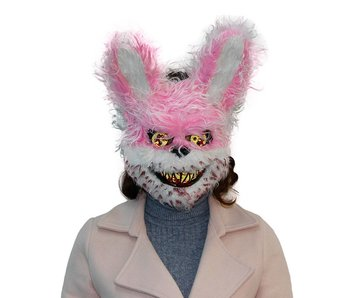 Halloween mask 'Pink horror bear'