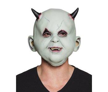 Latex hoofdmasker Duivelskind
