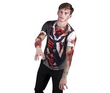 Photorealistic shirt Zombie L