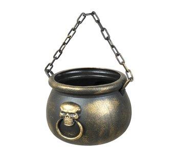 Cauldron Skull spell 13x19cm
