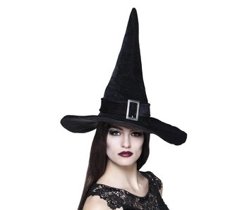 Hat Witch Kendra black 57>61