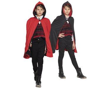 Cape Twilight kid black/red rev 115