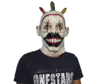 'Twisty' the clown masker