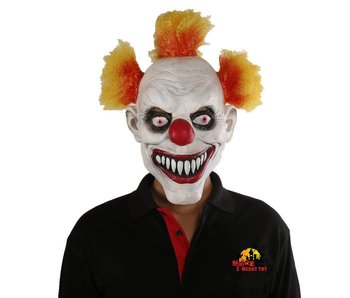 Killer clown masker 'Cookie'