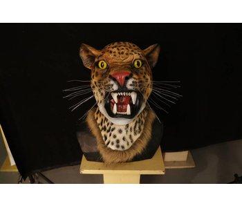 Luipaard masker - Deluxe
