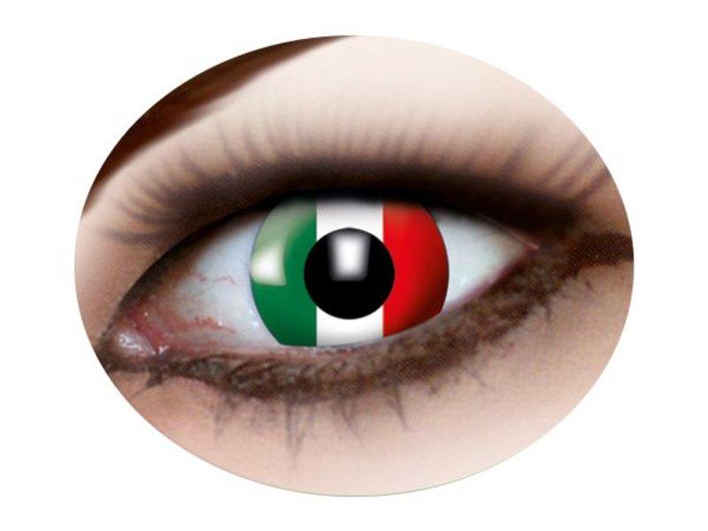 Party lenzen (Italiaanse vlag)