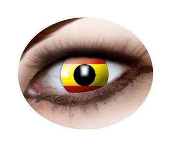 Spanish flag lenses