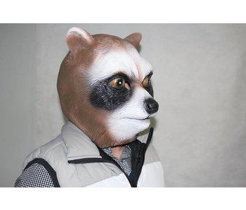 Brown raccoon mask
